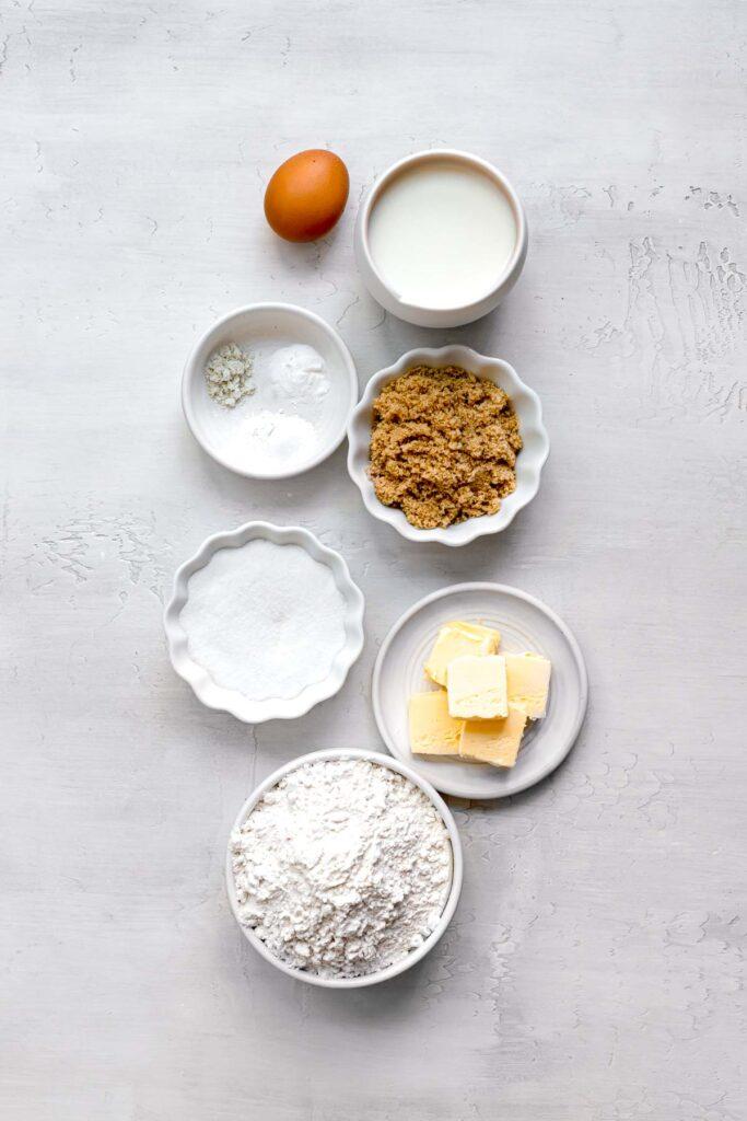 ingredients for boston cream whoopie pies